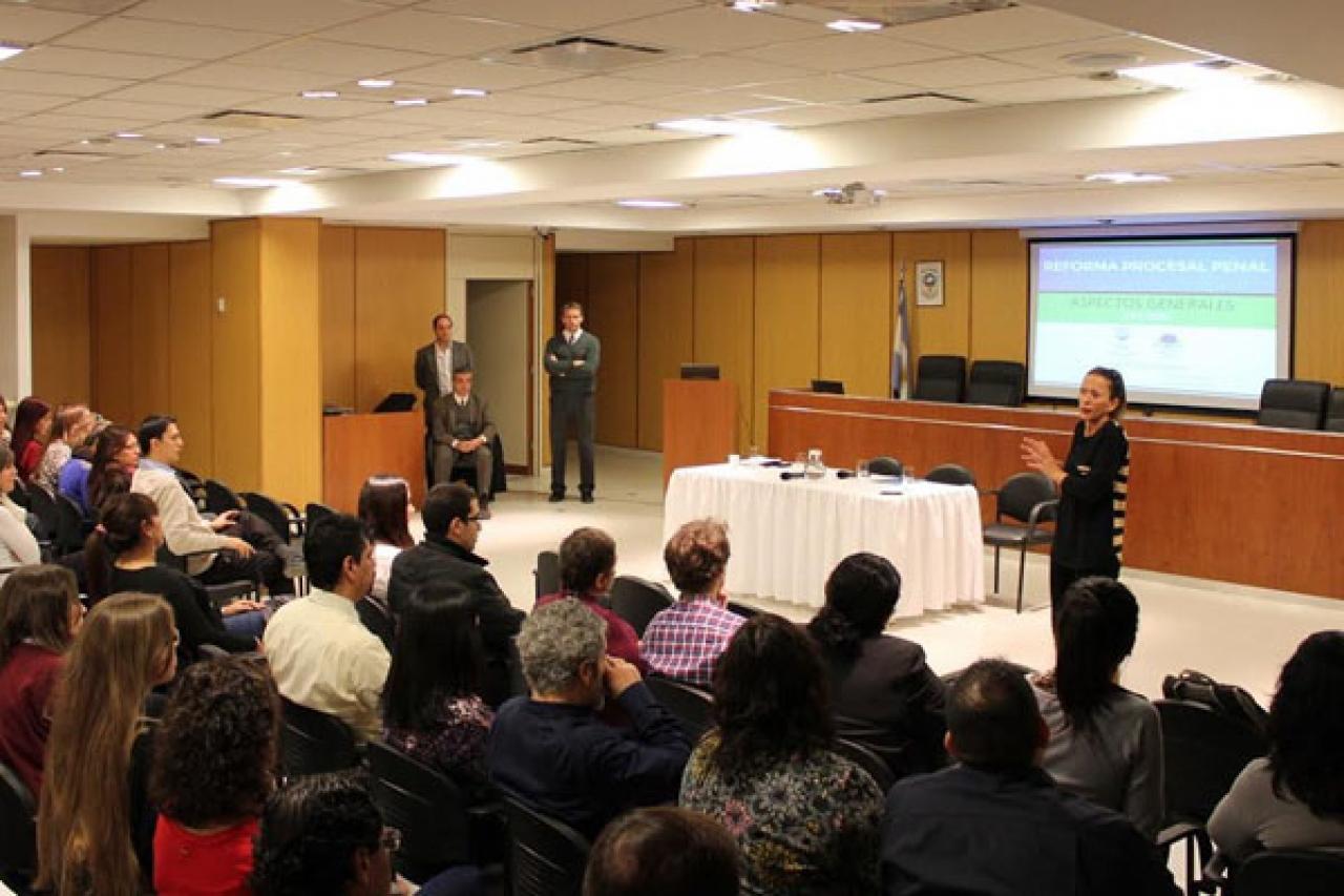 Charla Informativa sobre la Reforma Procesal Penal