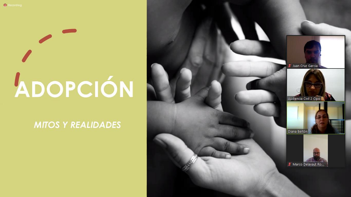 charla informativa sobre Adopción
