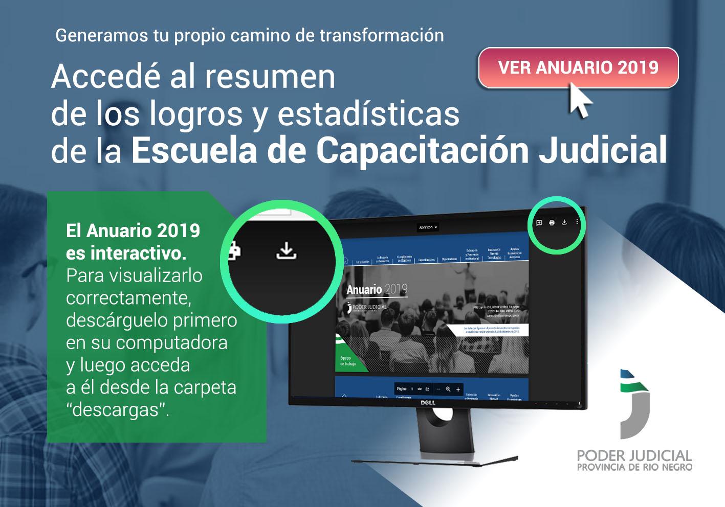 Anuario 2019 de la Escuela de Capacitación Judicial